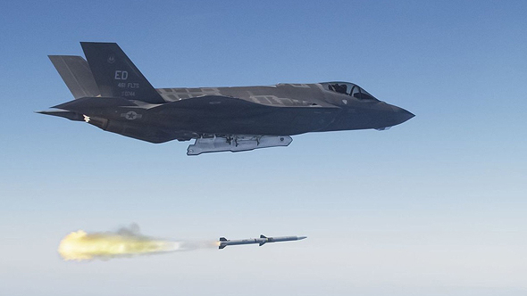 F35, צילום: USAF