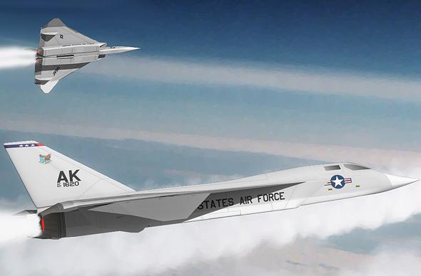 מטוס ה-XF108, צילום:  (Anynobody (CC BY-SA 3.0