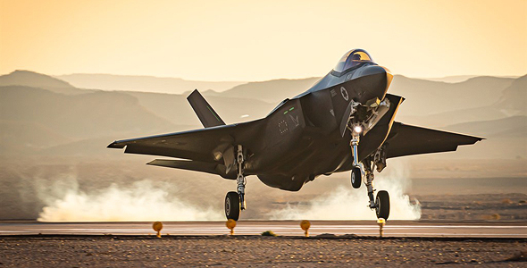 F35 בגישה לנחיתה, צילום: (A.A_Photogrphy (CC BY-SA 3.0