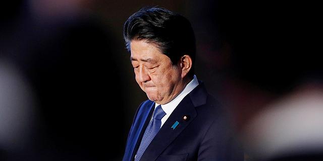 ראש ממשלת יפן שינזו אבה , צילום: רויטרס