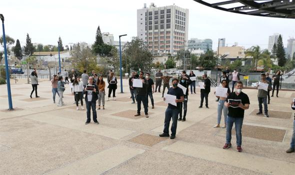 מחאת עובדי חדשות 13