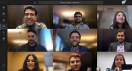 Microsoft Teams מיקרוסופט טיימס שיחות וידאו, עבודה מרחוק, עבודה מהבית - , קרדיט: Microsoft