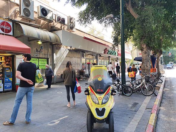 תור לשופרסל ברחוב ארלוזורוב, תל אביב