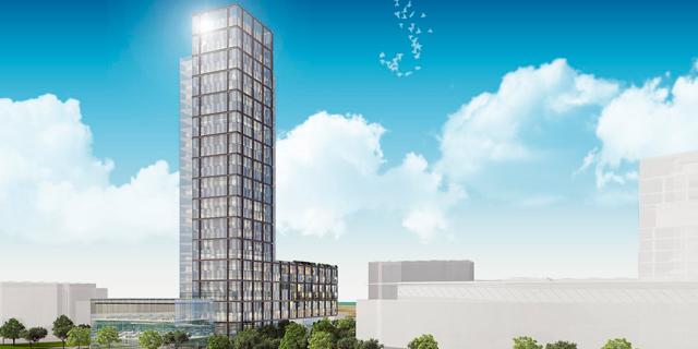 הופקדה תוכנית להוספת 230 דירות באזור התעשייה הרצליה