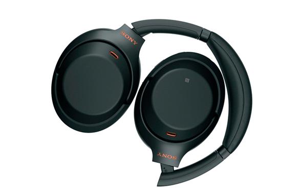 דגם ה- WH1000XM3 של סוני. אוזניות עם מנגנון ביטול הרעשים המוביל כיום בשוק, צילום: Sony