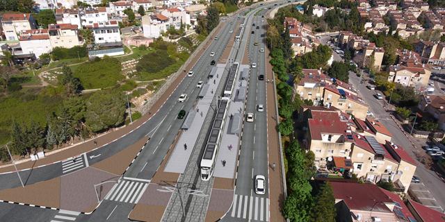 עשור אחרי הצגת הפרויקט, פורסמו הליכי המכרז להקמת הרכבת הקלה בין חיפה לנצרת