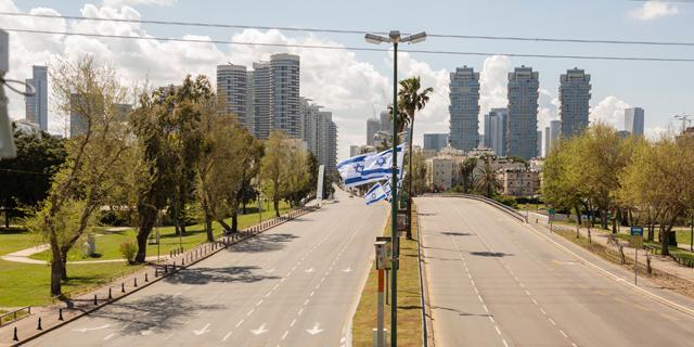 סגר בתל אביב, צילום: תומי הרפז