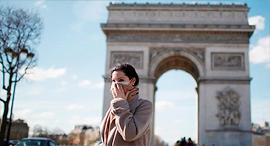פריז בקורונה, צילום: רויטרס