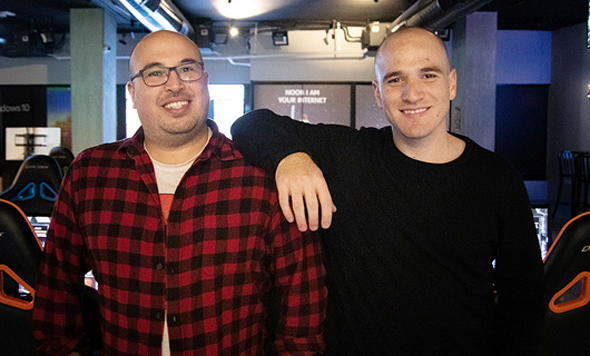 Novos co-founders Or Briga (left) and Shay Arnon. Photo: Novos.gg