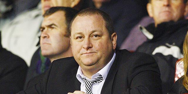 מייק אשלי בעלי קבוצת הכדורגל האנגלית ניוקאסל, צילום: גטי אימג