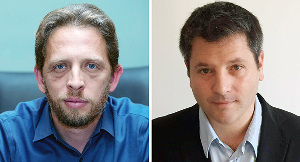 מימין: נדב שיינברגר ורועי פולקמן