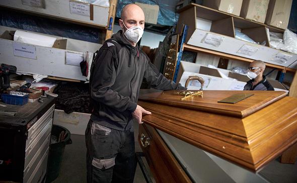 ארון קבורה בגרמניה, צילום: אי פי איי