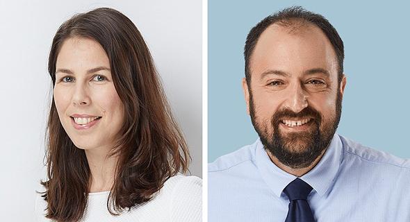 עורכי הדין אוהד גלעדי ורוני איטח גנט, שותפים בנ.פינברג ושות'