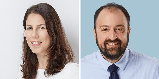 עורכי הדין אוהד גלעדי ורוני איטח גנט, שותפים בנ.פינברג ושות