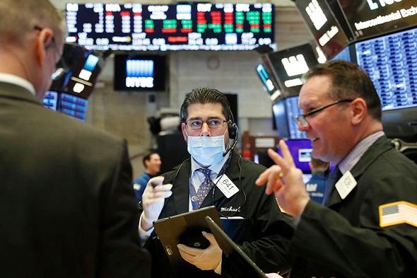 וול סטריט בימי קורונה, צילום: NYSE