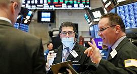 וול סטריט קורונה בורסה 16.4.20, צילום: NYSE