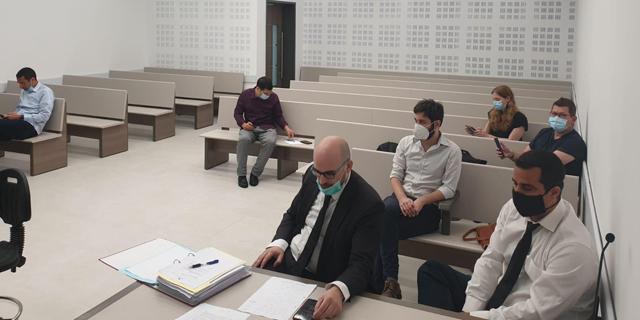 """הדיון בביה""""ד לעבודה, היום, צילום:  יח""""צ"""