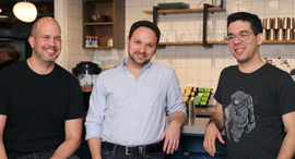 Bridgecrew co-founders Idan Tendler (left), Guy Eisenkot, and Barak Schoster Goihman. Photo: Bridgec