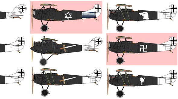 מטוסי טייסת קרב מס