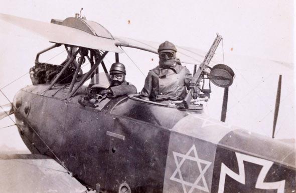 צוות גרמני, מטוס גרמני, מגן דווד, צילום: CandTauctions