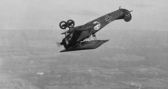 מטוס קרב מדגם פוקר D7, צילום: US LOC