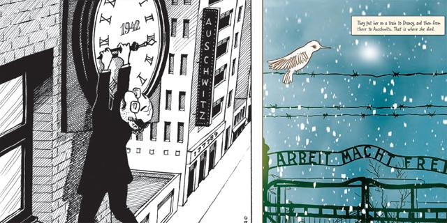 """""""ציפור לבנה"""" ו""""המתאגרף"""": שני ספרי קומיקס חדשים על השואה"""