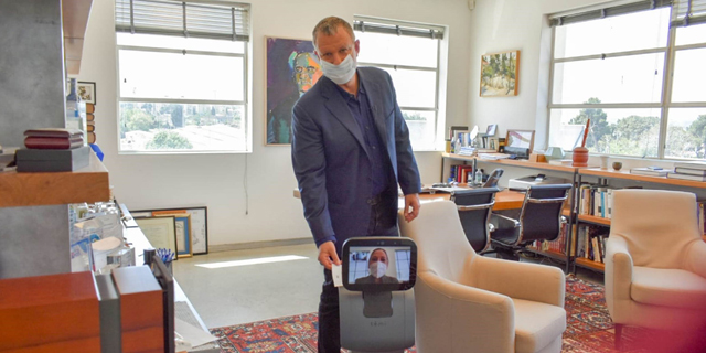 The New Normal at JVP: Robots, Temperature Taking Tech, and 3D Printed Masks
