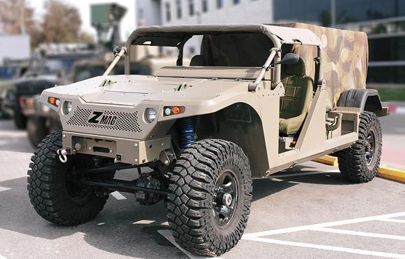 """התעשייה האווירית תבנה את רכב הקומנדו החדש של צה""""ל"""