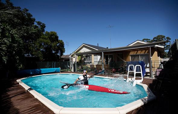פוטו שומרים על כושר בבית קורונה קאנו אוסטרליה ג'סיקה פוקס