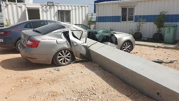 """התאונה בראשון לציון, צילום: מד""""א"""