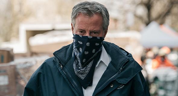 ראש עיריית ניו יורק ביל דה בלאזיו , צילום: גטי אימג