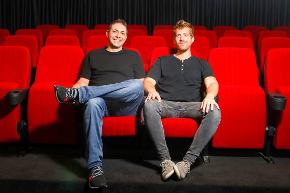 Monday.com co-founders Roy Man and Eran Zinman. Photo: PR