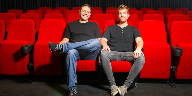 Monday.com co-founders Roy Man and Eran Zinman. Photo: PR
