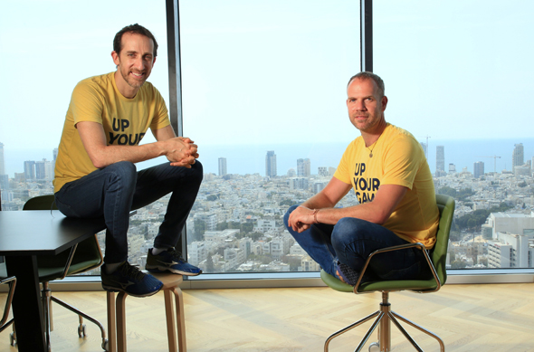 Logz.io co-founders. Photo: Ryan Frey