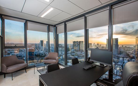 משרדי WeBiz בתל אביב. פרטיות והפרדה מוחלטת משאר המשתמשים