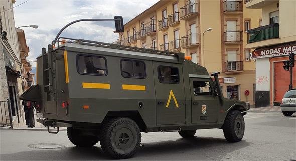 רכב צבאי באורחיבה, צילום: מיטל ויונתן סלע