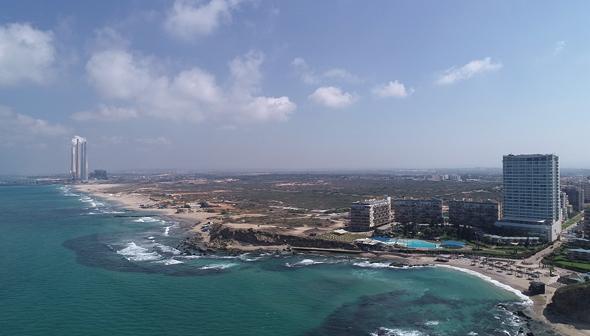 רובע הים בחדרה. 12,000 יחידות דיור, בתי מלון, שטחי מסחר ופארקים, בפרויקט הדגל של העיר
