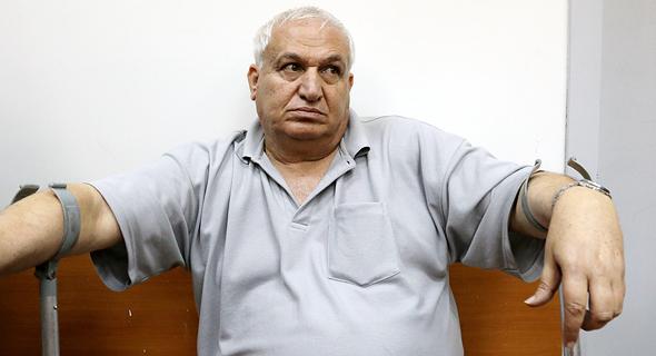 אלי כהן חבר ועד עובדי תעשייה אווירית, צילום: שאול גולן