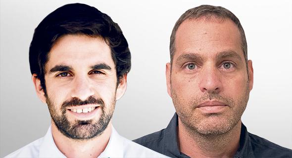 """החוקרים ד""""ר יואב מחזאי וניר קוסטי, צילום: נתנאל טוביאס"""