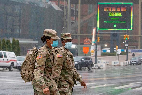 חיילים בניו יורק