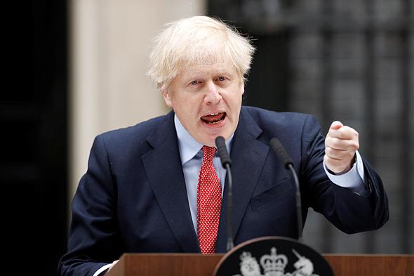 ראש ממשלת בריטניה בוריס ג'ונסון