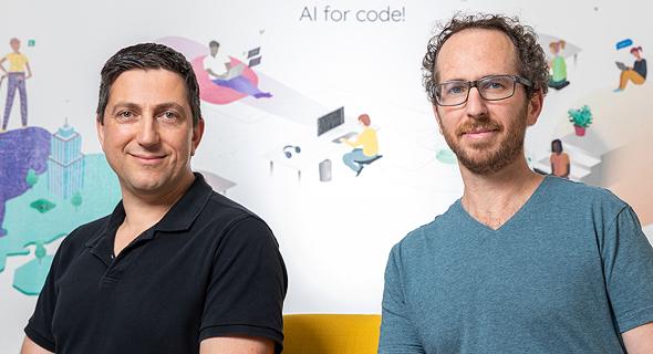 Codota co-founders Dror Weiss (right) and Prof. Eran Yahav Photo:Eyal Tueg
