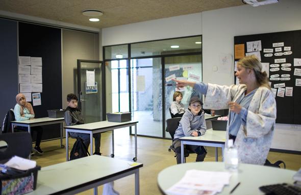 בית ספר בדנמרק
