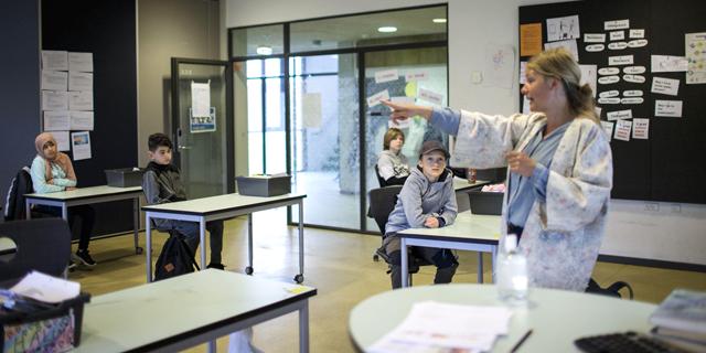 בית ספר בדנמרק, צילום: איי אף פי