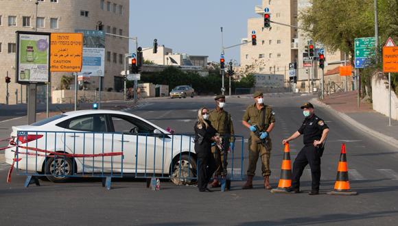 ירושלים בתקופת הסגר, צילום: אלכס קולומויסקי
