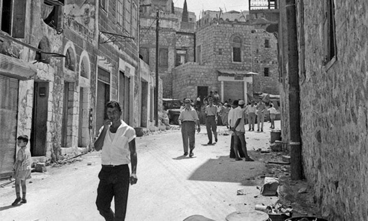 שכונת ואדי סאליב 1955, צילום:  אוסקר טאובר