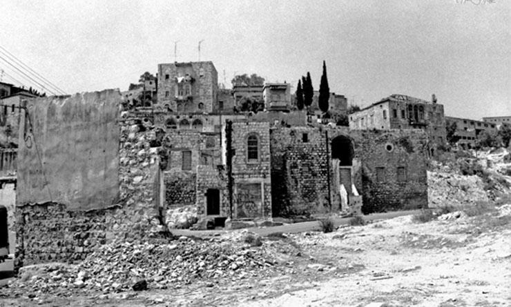 העיר התחתית בחיפה אחרי 48