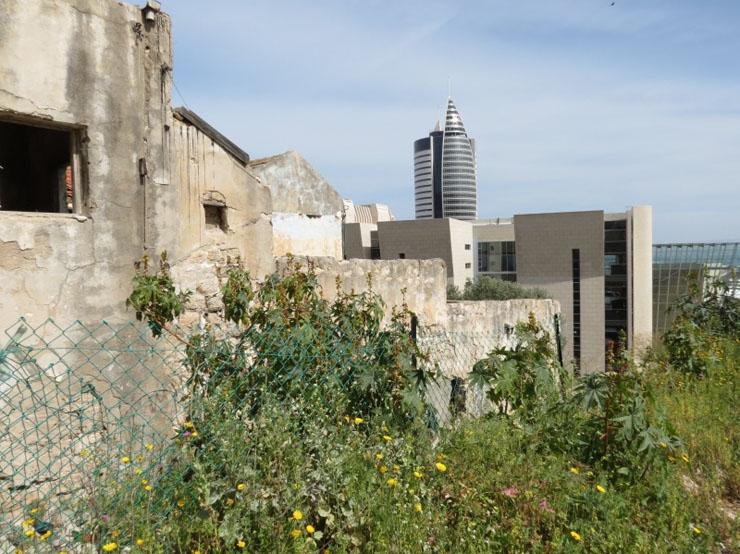 שכונה נטושה בלב העיר, צילום: אתר זוכרות