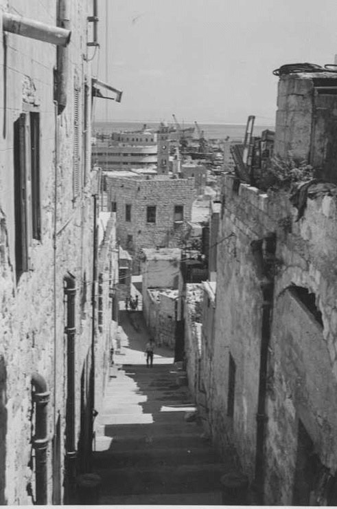 סמטאות השכונה לפני המלחמה, צילום: אתר זוכרות