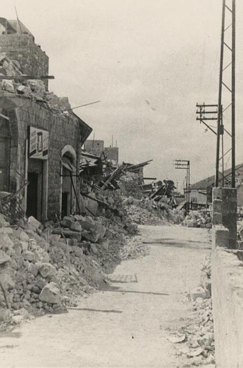 השכונה הגיעה למלחמה במצב גרוע גם כך, צילום: ג